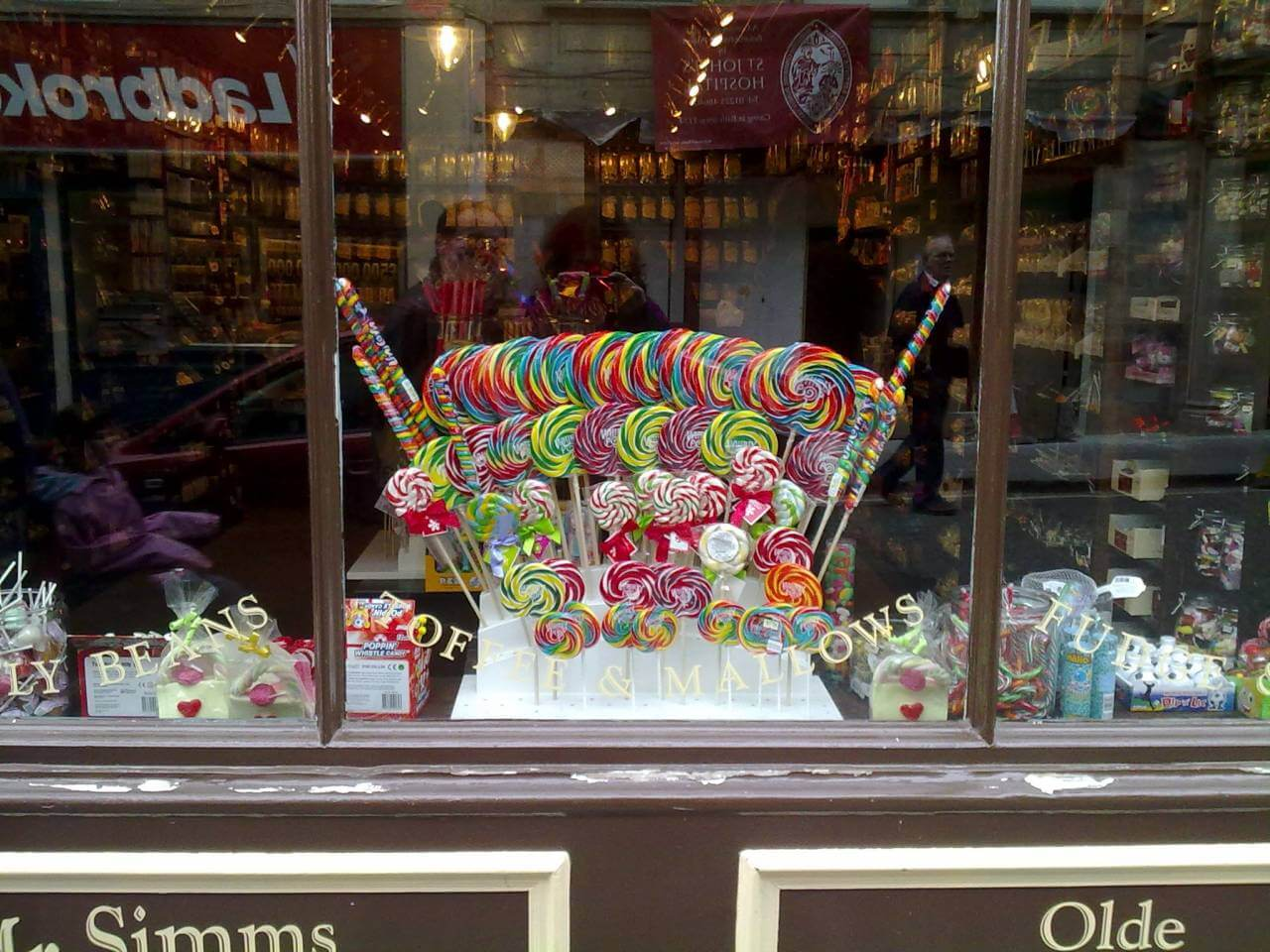 The sweet shop in Bath - Learning languages with expert teachers online